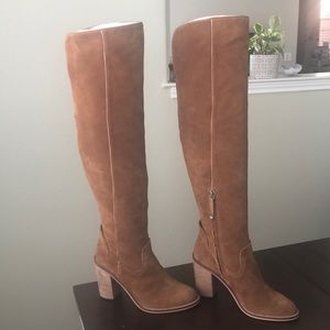Dolce Vita Brown Suede Tall Boots